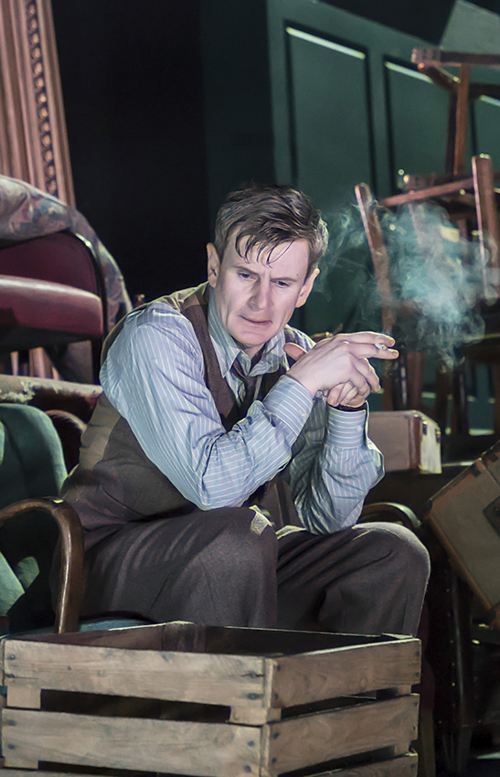 Charles Edwards in Absolute Hell - Credit Johan Persson