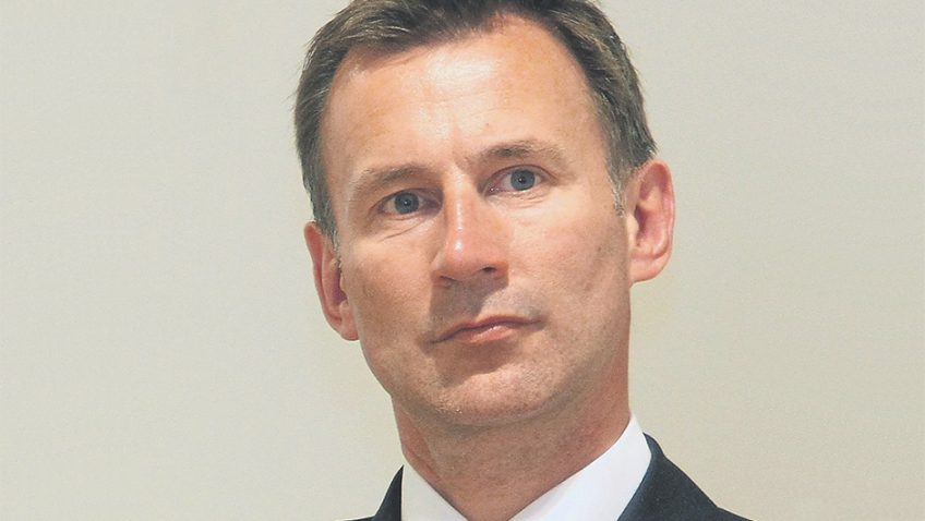 A letter from Paul Broadhurst – Jeremy Hunt