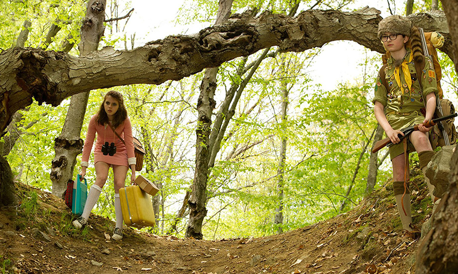 Jared Gilman and Kara Hayward in Moonrise Kingdom - Copyright 2012 - Focus Features - Credit IMDB