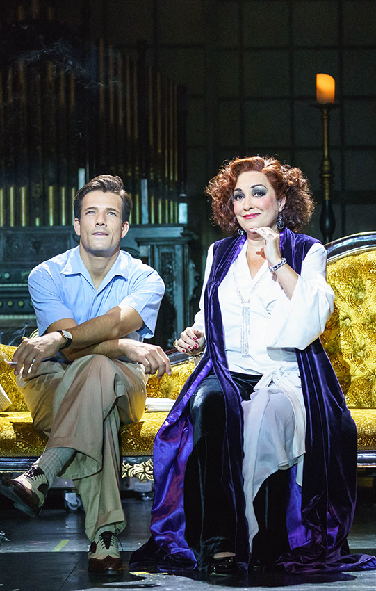 Danny Mac and Ria Jones in Sunset Boulevard - Credit Manuel Harlan