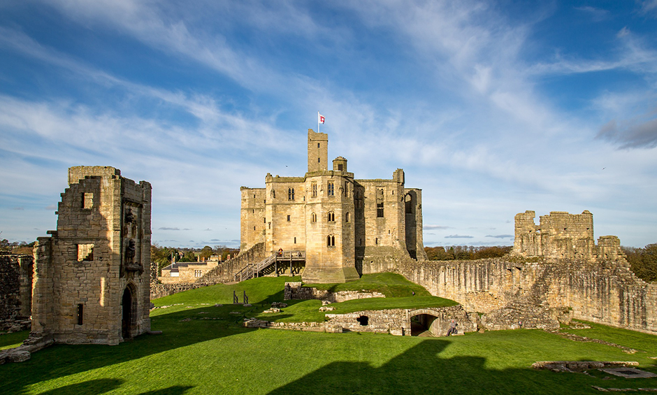 Warkworth Castle and Hermitage - Northumberland - Free for commercial use - No attribution required - Credit Pixabay