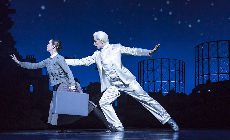 Ashley Shaw and Liam Mower in Cinderella - Credit Johan Persson