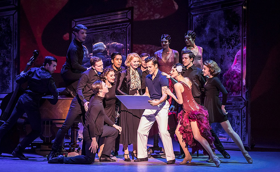 Robert Fairchild, Zoe Rainey, Alyn Hawke, Zoe Arshamian, Sarah Bakker, James Barton, Chrissy Brooke, Jonathan Caguioa, Katie Deacon and Nicky Henshall in An American in Paris: The Musical - Credit IMDB