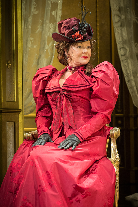 Frances Barber in An Ideal Husband - Credit Marc Brenner