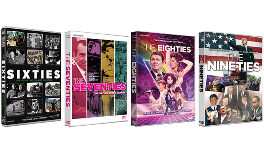 Win a set of four DVDs looking back at four astonishing decades