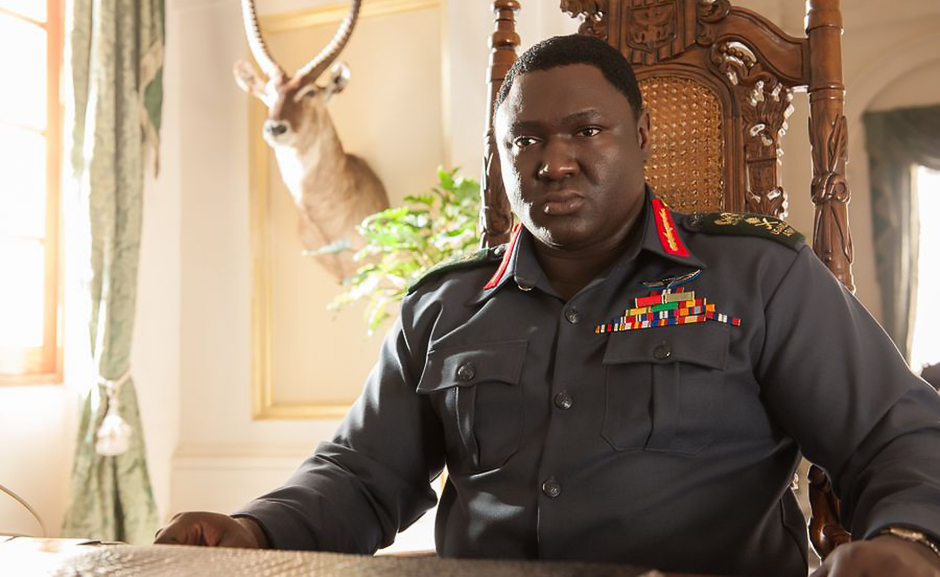 Nonso Anozie in Entebbe - Credit IMDB