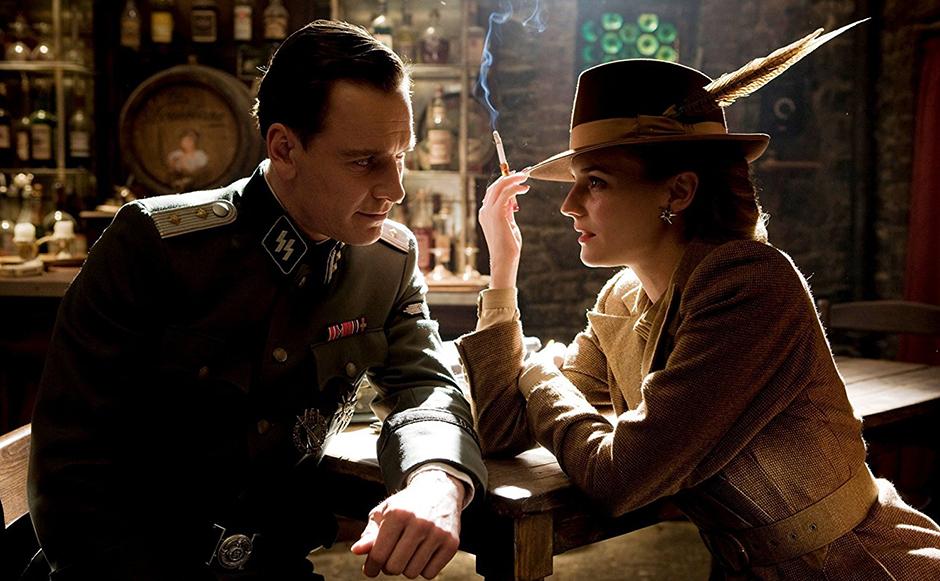 Michael Fassbender and Diane Kruger in Inglourious Basterds - Credit IMDB