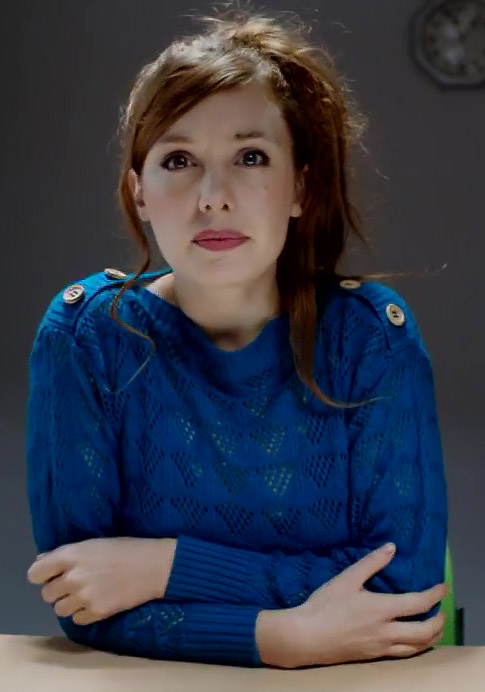 Laetitia Dosch in Jeune femme - Credit IMDB