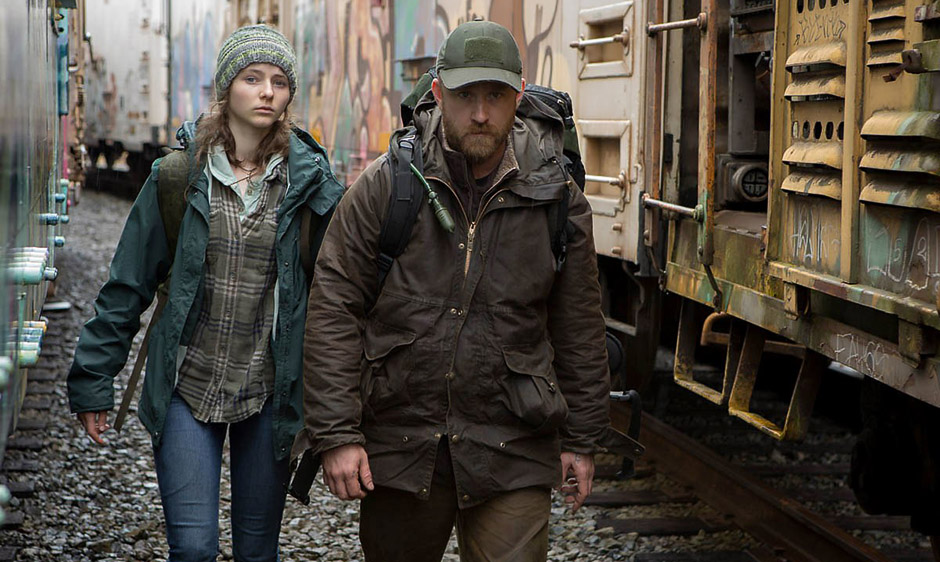 Thomasin McKenzie and Ben Foster in Leave No Trace - Copyright Leave No Trace - Credit IMDB