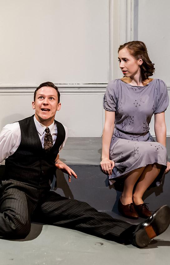 Matthew Cavendish and Emily Langham in The Biograph Girl - Credit Lidia Crisafulli