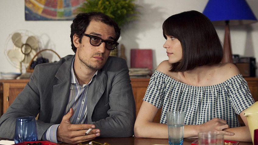 Jean Luc Godard struggles to reconcile his art, marriage and politics in this bitter-sweet comedy