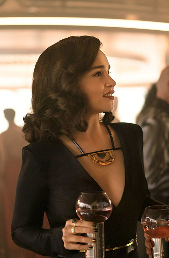 Emilia Clarke in Solo: A Star Wars Story - Credit IMDB