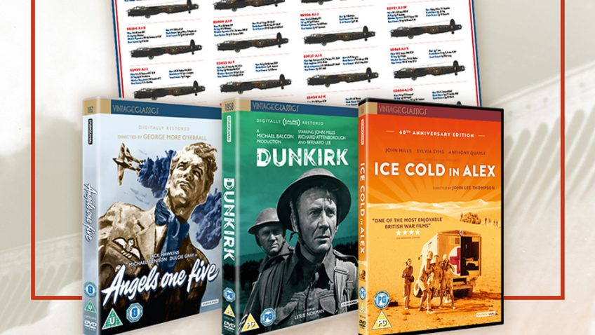 Win a goody bag of war time classics with the Dam Busters