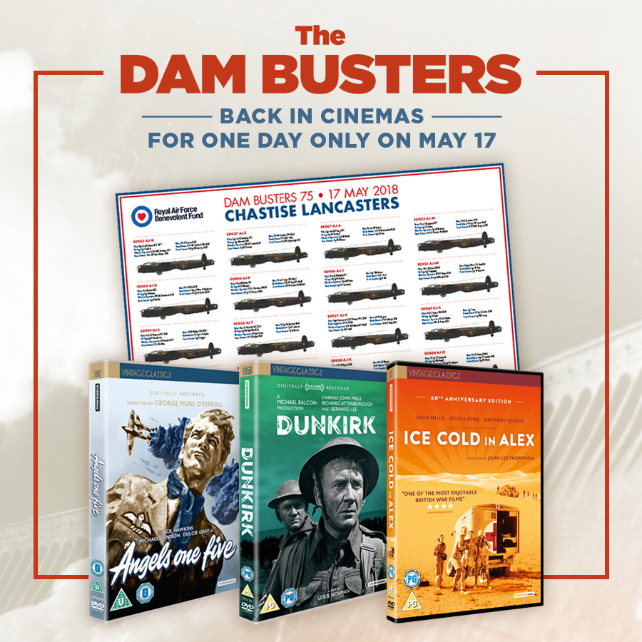 The Dam Busters advert