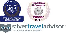 Silver Travel Advisor logo