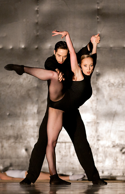 Anna Merkulova and Max Genov in Enemy in the Figure - Credit Costin Radu