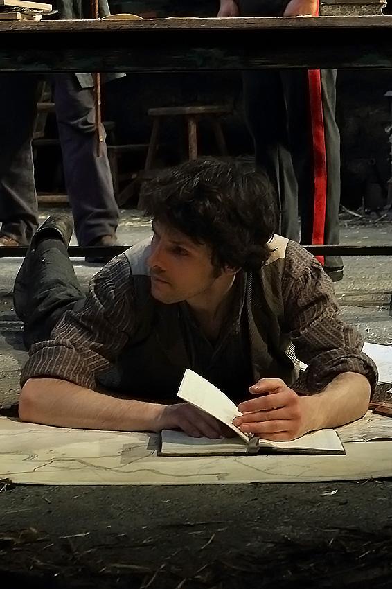 Colin Morgan in Translations - Credit Catherine Ashmore
