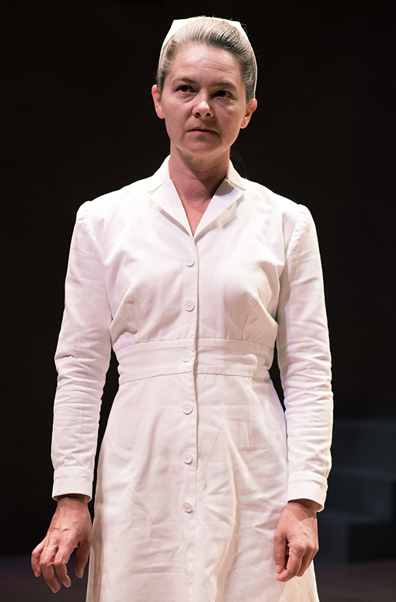 Jenny Livsey in One Flew Over The Cuckoo's Nest - Credit Sam Taylor