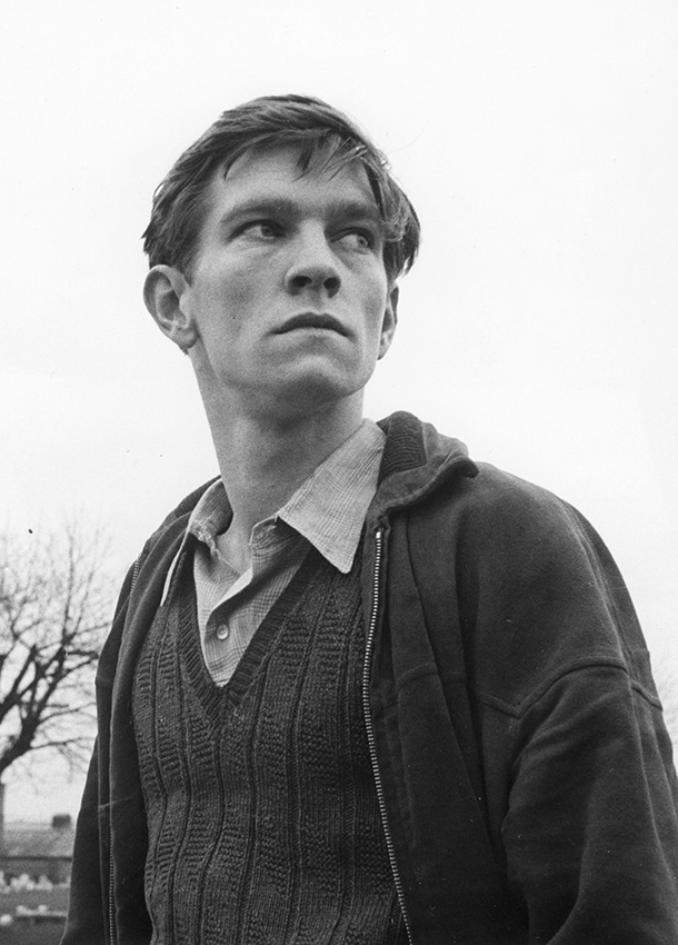 Tom Courtenay in Loneliness of the Long Distance Runner - Credit BFI