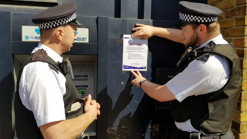 Operation Safe Card – tackling cash machine crime