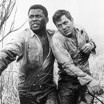 Sidney Poitier, the first black American to become a major movie star