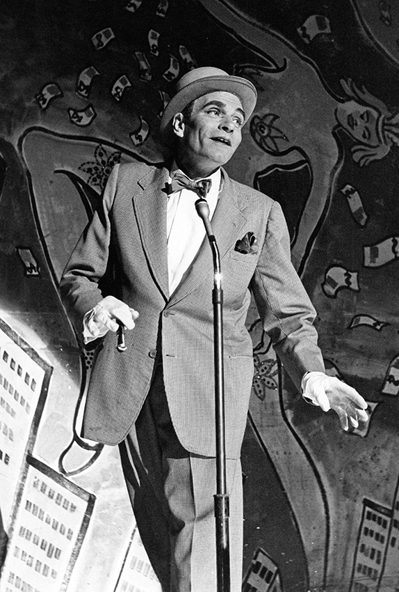 Laurence Olivier in The Entertainer - Credit BFI