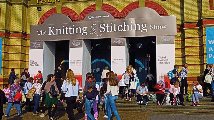 Knitting & Stitching Show at Alexandra Palace