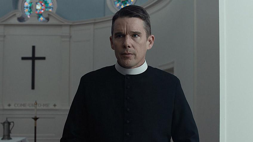 Ethan Hawke in First Reformed - Credit IMDB