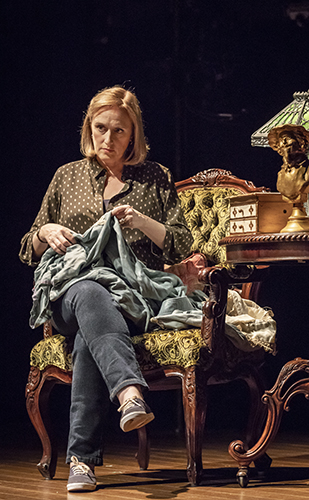 Jenna Russell in Fun Home - Credit Marc Brenner