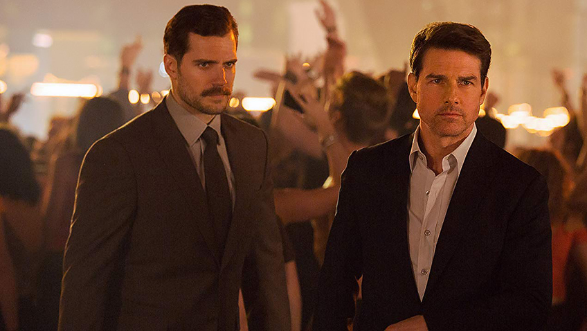 Tom Cruise and Henry Cavill in Mission: Impossible - Fallout - Credit IMDB