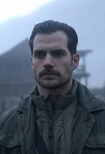 Henry Cavill in Mission: Impossible - Fallout - Credit IMDB