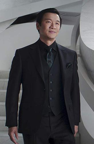 Chin Han in Skyscraper - Credit IMDB