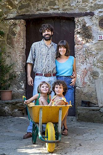 David Verdaguer, Bruna Cusí, Laia Artigas and Paula Robles in Summer 1993 - Credit IMDB
