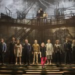 A handsome set and superb lighting contribute hugely to the success of the show