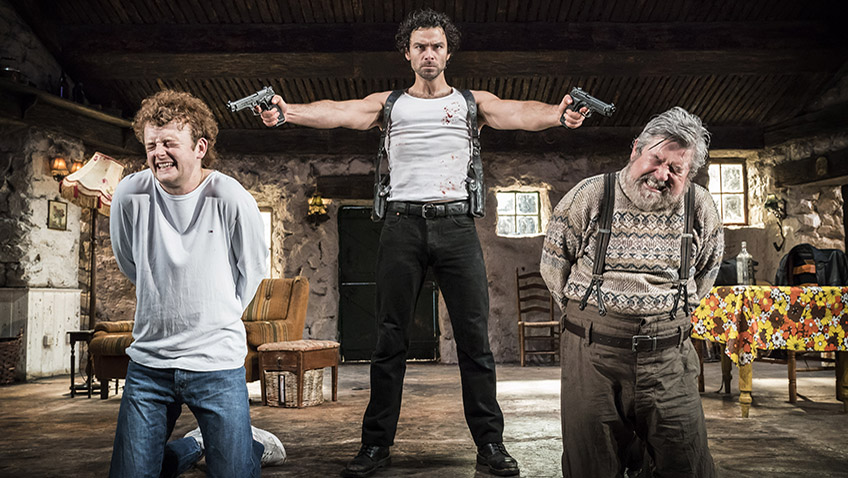 Martin McDonagh has written a violent play that is wholehearted anti-violence