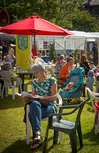 Edinburgh International Book Festival 2016