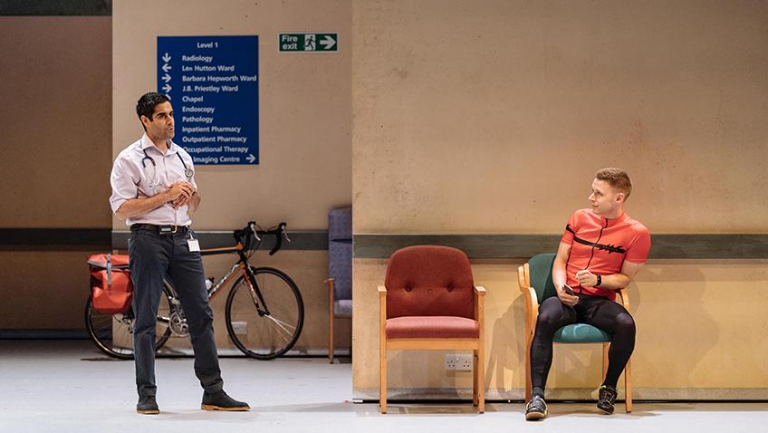 Sacha Dhawan and Samuel Barnett in Allelujah! - Credit Manuel Harlan
