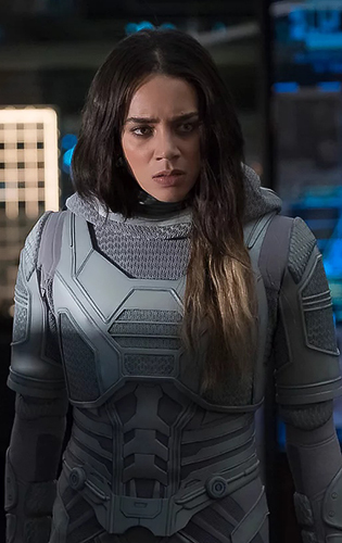 Hannah John-Kamen in Ant-Man and the Wasp - Credit IMDB