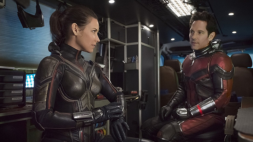 Paul Rudd and Evangeline Lilly in Ant-Man and the Wasp - Credit IMDB