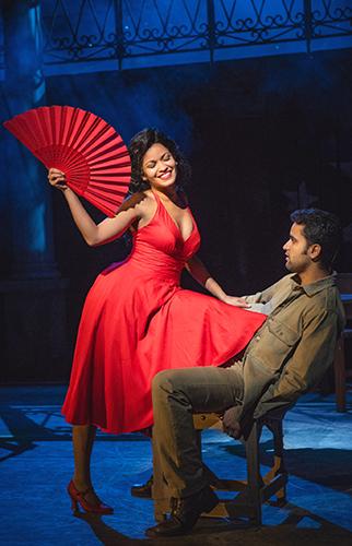 Luna Manzanares Nardo and Saeed Mohamed Valdés in Carmen La Cubana - Credit Nilz Boehme