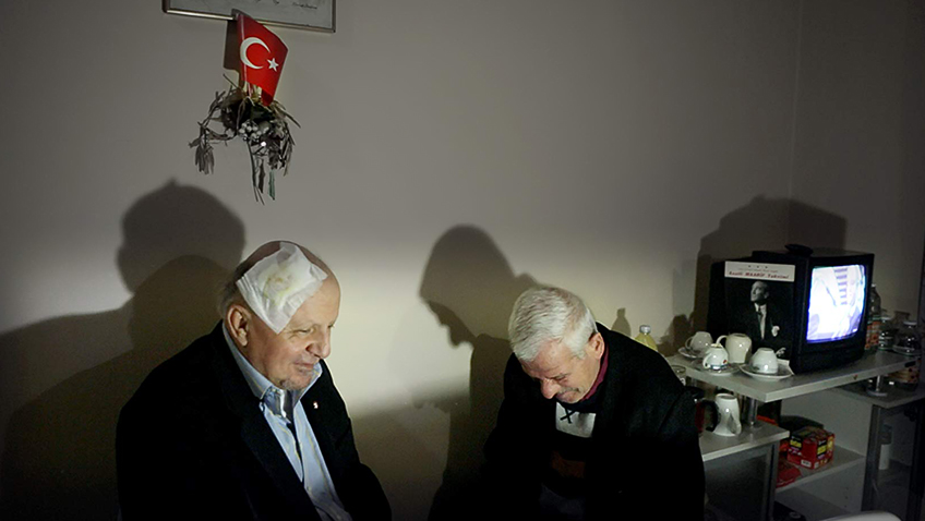 Shevaun Mizrahi captures the fading lives of residents from a care home in Istanbul