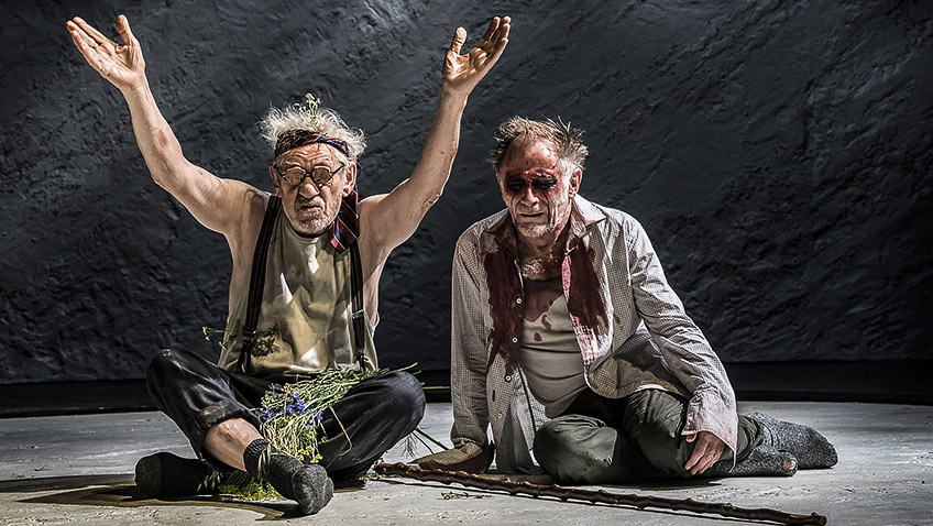 King Lear ranks among Ian McKellen's best performances