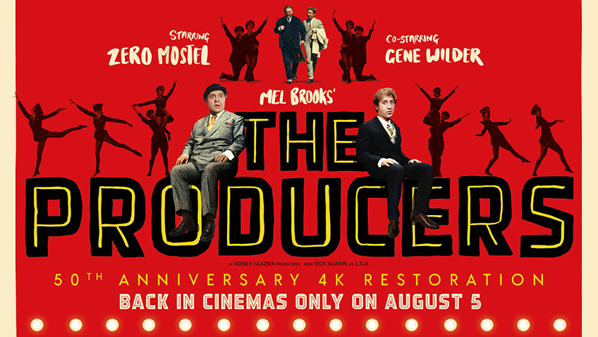 Win a limited edition The Producers poster and classic cinema Blu-ray bundle