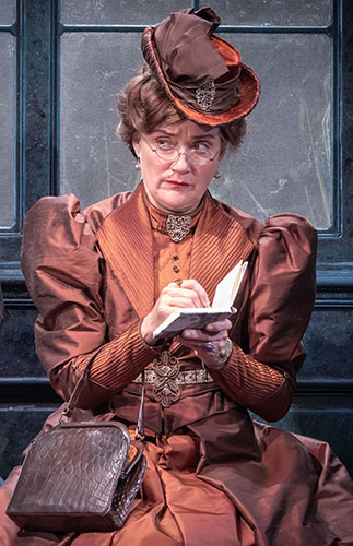Sophie Thompson in The Importance of Being Earnest - Credit Marc Brenner