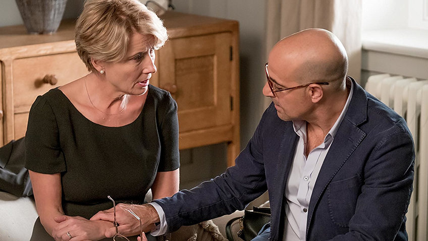 Emma Thompson and Stanley Tucci in The Children Act - Credit IMDB