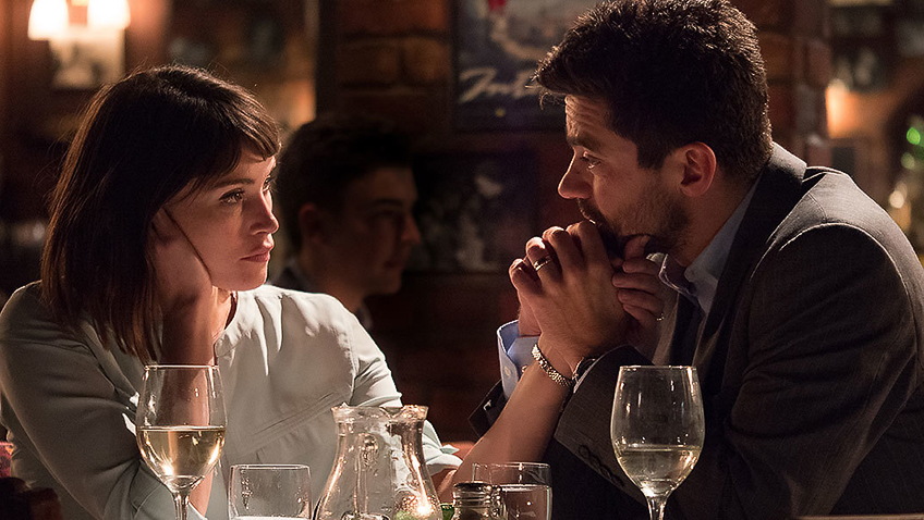Dominic Cooper and Gemma Arterton in The Escape - Credit IMDB
