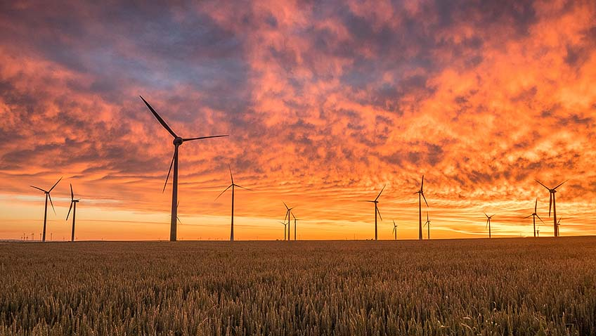 Wind power - Wind turbine - Clean energy - Free for commercial use - No attribution required - Credit Pixabay