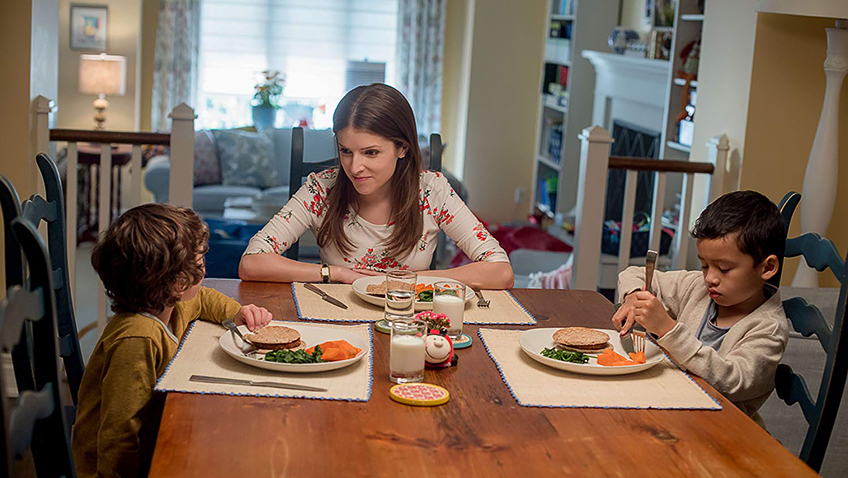 Anna Kendrick, Joshua Satine and Ian Ho in A Simple Favour - Credit IMDB