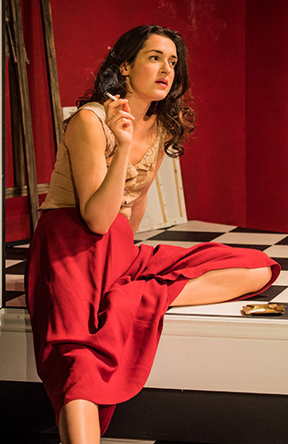 Phoebe Pryce in About Leo - Credit Robert Workman