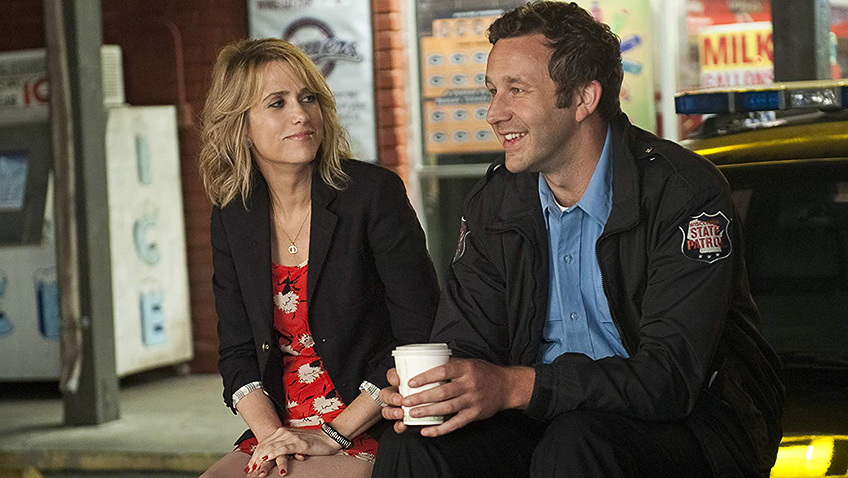Kristen Wiig and Chris O'Dowd in Bridesmaids - Photo by Suzanne Hanover - © 2011 Universal Studios. ALL RIGHTS RESERVED. - Credit IMDB